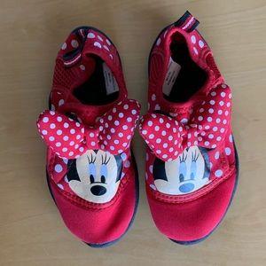 Disney Minnie Mouse Aqua Shoes NWOT